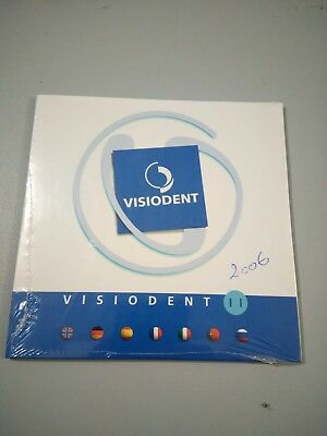 CD logiciel imagerie dentaire visiodent année 2006 x ray dental software