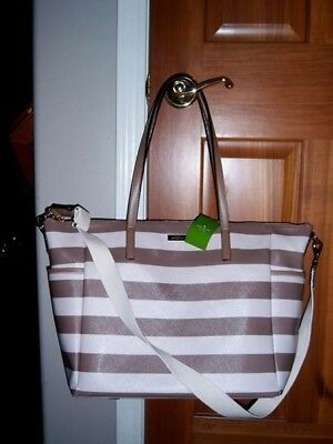 Brand New w. Tag Kate Spade Adaira Diaper Bag With Changing Pad Nwt