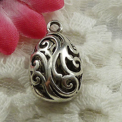 free ship 300 pieces tibet silver nice charms 24x12mm #3431