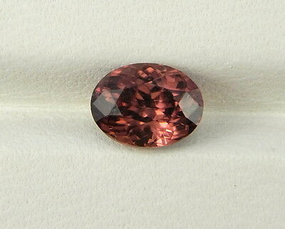 Zirkon rot Hyacinth 1,66 ct natural red Zircon Sri Lanka koxgems