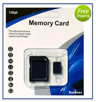 128GB Micro SD SDXC Flash TF Memory Card Class 10 For Android Camera Phone