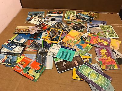 Collection of Approx 60 x Vintage Phone Cards, UK & International