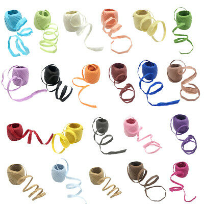 20m Raffia Paper Ribbon Packing Rope/Twine Gift Packing Ribbon DIY Art Scrapbook