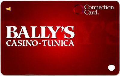 BALLYS TUNICA hotel casino*CONNECTION CARD*Vintage BLANK~slot/players card