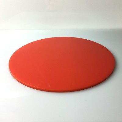 """10"""" inch Acrylic Perspex cake board, cake plate decorating,19 COLOURS!"""