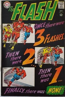 The Flash #173_Silver Age_ 3 Flashes Appear