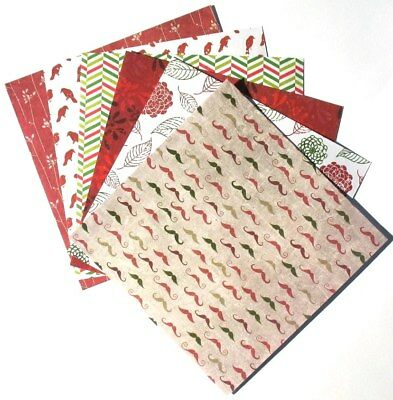 Rouge - 6x6 Forever In Time Scrapbooking Paper Pack