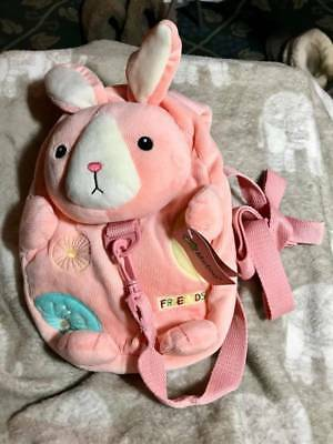 Me Too Baby Cartoon Plush Backpack Anti-lost Shoulder Bags for 1-3 Years Old