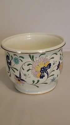 "Vintage Coalport Bone China Pot 4.5"" High X 5.5"" Wide Made In England ""pageant"""