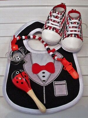 Baby Gift Set - Baby Shower for Baby Boy x 5 Items