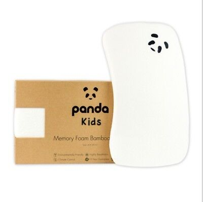 Panda Luxury Supporting bedding Memory Foam Bamboo Pillow For Toddler 12+months