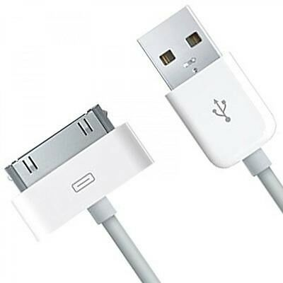 iPhone 4 USB Cable 1m Wire Data Sync Charger Lead Cord 2G 3GS 4S 4G iPad iPod
