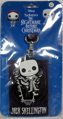 THE NIGHTMARE BEFORE CHRISTMAS Jack Skellington - Schlüsselband / Lanyard + Pass
