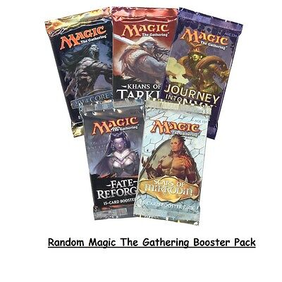 20x Twenty Magic the Gathering Random Booster Packs New (Aus)
