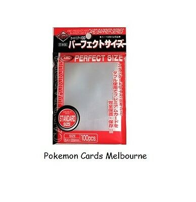 "KMC Full Sized ""Perfect Size Perfect Sleeves for Dbl Sleeving Pokemon & Magic"