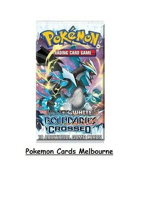 Black and White Boundaries Crossed Pokemon Card Retro Booster Pack RARE (Aus)