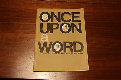 Once Upon a Word Scott Forseman and Company 1966 Vintage Childrens school book