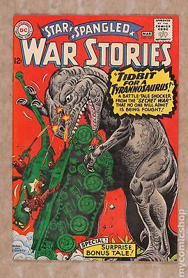 Star Spangled War Stories (DC) #3 to 204 #125 1966 FN 6.0