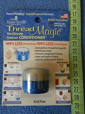 Thread Magic Round - thread conditioner for hand sewing