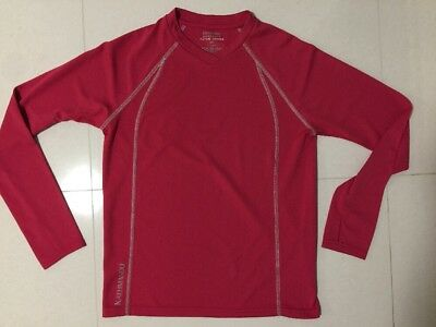 @kathmandu Womens Size 8/girls Size 14 Active Series Thermal Long Sleeve Top Exc