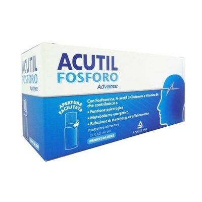 Acutil Fosforo Advance 10 Flaconcini da 10ML