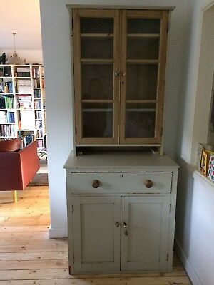 Antique Painted Dresser / cabinet - painted in F&B Old White