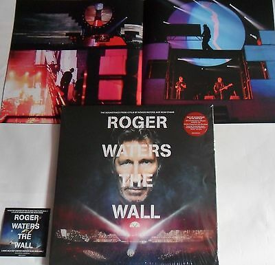 LP ROGER WATERS THE WALL - Soundtrack (3Lp) Columbia 888751554115 (Pink Floyd)