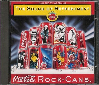 Coca-Cola Musik CD,The Sound of Refreshment,aus der Rock-Can-Collection von 1995