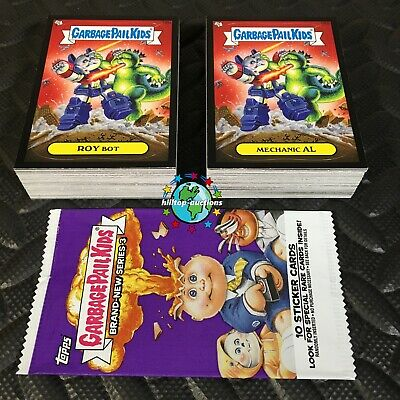 GARBAGE PAIL KIDS BATTLE OF THE BANDS COMPLETE 180-CARD SET 2017 +WRAP free-ship