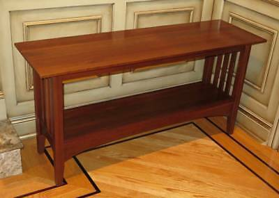 Ethan Allen American Impressions Cherry Wood Sofa Hall Accent Table 24 9401  224