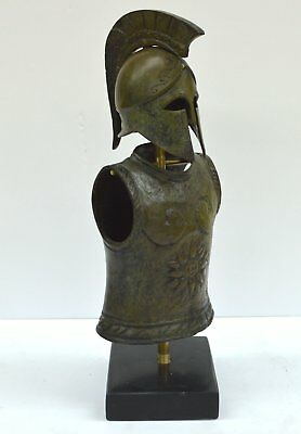 Greek Spartan Corinthian Small Bronze Helmet - Armor - Antique Style - Unique