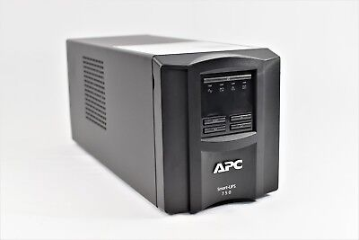APC SMT750I Smart-UPS 750VA LCD USV Tower 500W Notstrom Power Backup