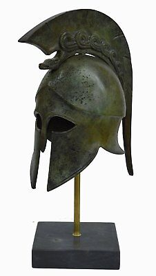 Corinthian Bronze helmet with Snake - Ancient Greece - Medium size