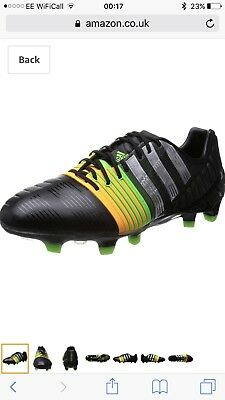 low cost abb69 3d43a NEW-Adidas Nitrocharge 1.0 FG football Boots! RRP£150 Mens Football Boots  Size
