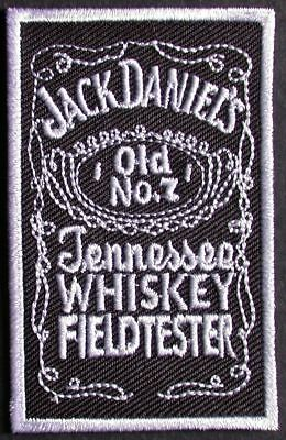 PATCH  ECUSSON brodé  thermocollant  JACK DANIELS  whiskey  whisky
