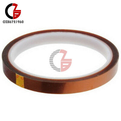 10mm 100ft Tape BGA High Temperature Heat Resistant Polyimide Gold