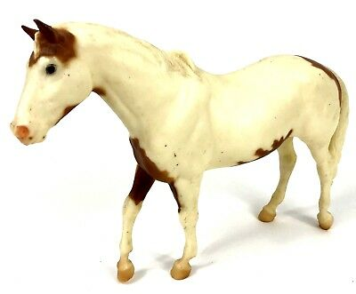 Breyer Model Horse Traditional 12x9 Stallion USA Vintage Equestrian White Brown