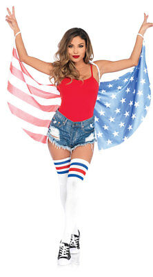One Size Fits Most Womens Stars And Stripes Wings