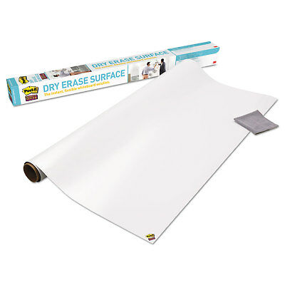 Post-it Film Dry Erase Surface 8 ft x 4 ft Whiteboard Table/Wall (DEF8X4)