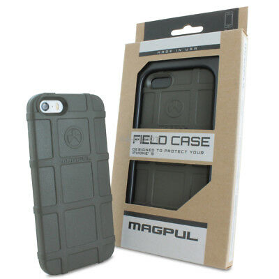 Magpul [Field] For Apple iPhone SE/5s/5 100% Genuine Polymer Case+Tempered Glass