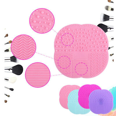 Scrubber Board Hand Mat Makeup Brush New Cleaner Pad Washing Beauty Cleaning Mat