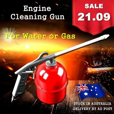 Engine Cleaning Gun Solvent Air Sprayer Degreaser Siphon Tool For Car Home PP