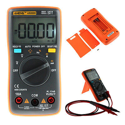 Handheld/Pocket Digital Multimeter Auto Range AC DC Volt Temp Resistance Meter