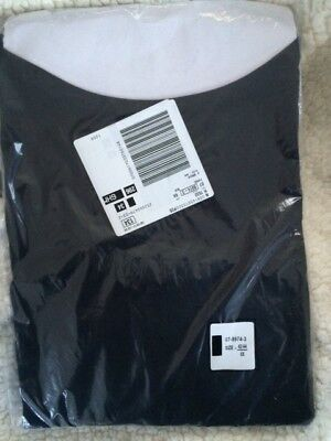 New In Sealed Bag Woman Within Plus Size T-Shirt Size 6X Black