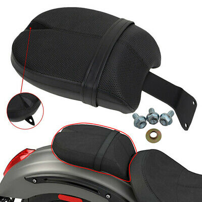 Motorcycle Soft Passenger Pillion Pad Seat Black For 2017 Victory Octane models