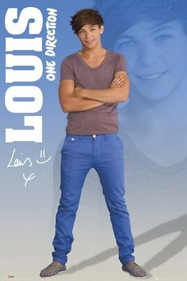 Louis (One Direction) Poster Grand Format 61 x 91.5 cm