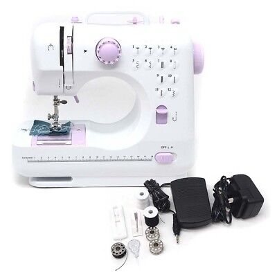 Electric Home Household 12 Stitches Mini Multi Function Sewing Machine Portable