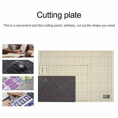 Double Color A5 PVC Sewing Cutting Mats Office Students Engraving Cutting Mat GU