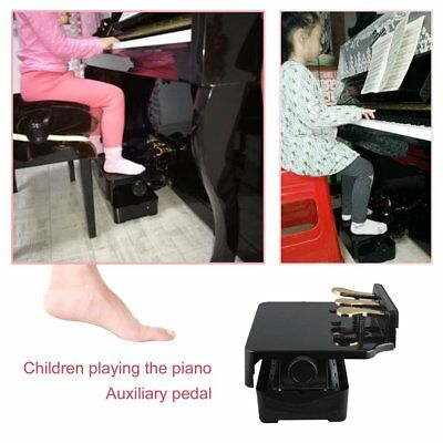 PA-23 Adjustable Piano Pedal Extender Bench Assistant Lifting For Children GU