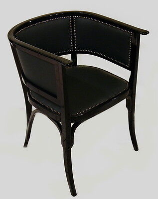 JUGENDSTIL THONET WIEN FAUTEUIL ARM SESSEL CHAIR VIENNA NUMBER 6575 c.1905